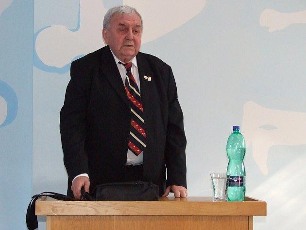 Augustin Bubnik na besedě v Bašce