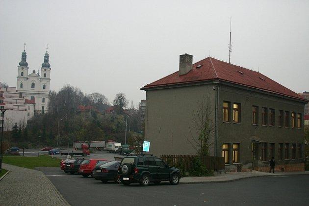 Opravené centrum pečovatelských služeb.
