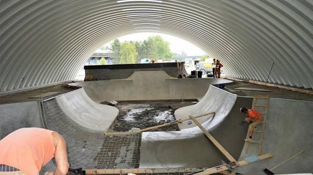 Skatepark ve Frýdku-Místku bude doplněn i o pumptrack.