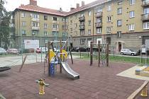 Nové hřiště mohou už užívat děti na sídlišti Spořilov.