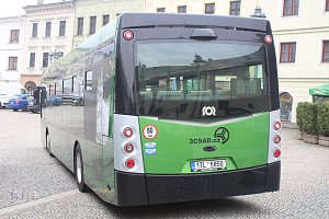 Elektrobusy ve Frýdku-Místku