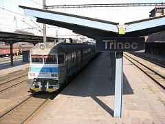 Železniční stanice v Třinci. Ilustrační snímek.
