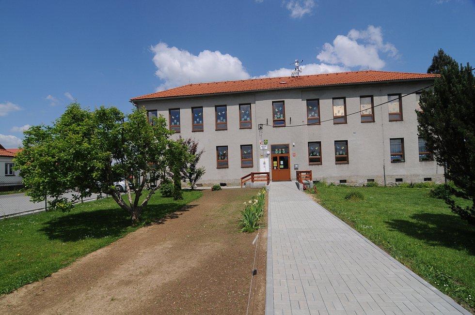 Mateřská škola v Horních Domaslavicích.