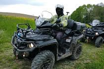 Policisté budou v lesích v Beskydech kontrolovat neukázněné majitele terénních motocyklů a čtyřkolek.