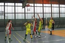 Mladé basketbalistky Frýdku-Místku.