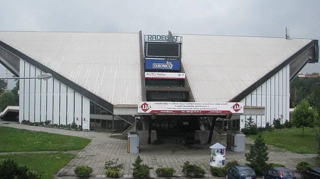 Víceúčelová sportovní hala ve Frýdku-Místku. Ilustrační snímek.