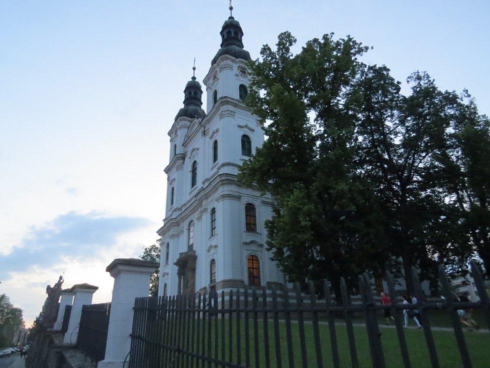 Frýdecká Bazilika Navštívení Panny Marie.