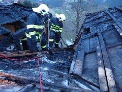 Šest jednotek hasičů zasahovalo v sobotu 27. dubna večer v obci Hrčava u požáru části sedlové střechy třípodlažního rodinného domu. Oheň se obešel bez zranění, předběžná škoda na střeše byla odhadnuta na 250 tisíc korun.