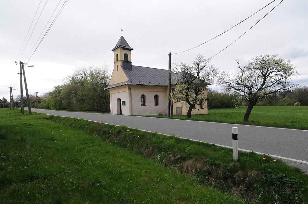 Kaplička v Kaňovicích.