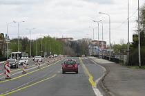 Mostní estakáda ve Frýdku-Místku.