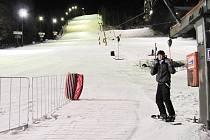 V plném proudu je již provoz také na palkovickém kopci v příměstském lyžařském středisku Lyžování za domem.