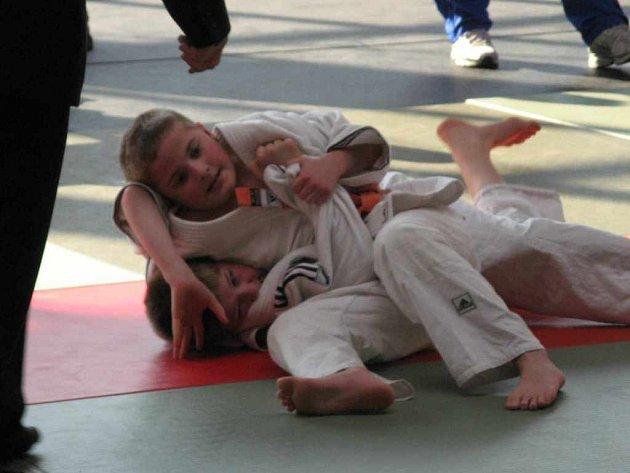 Michal Horák bojuje s protivníkem.