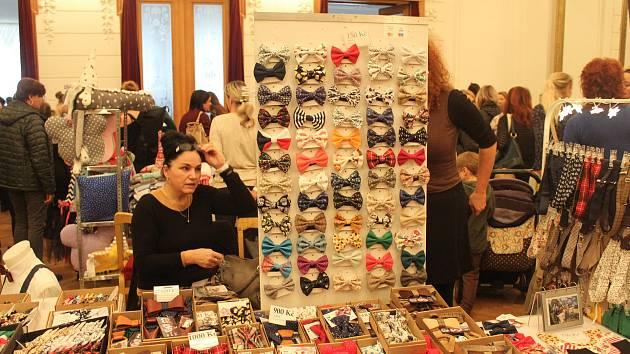 Handmade market se konal poprvé v Národním domě ve Frýdku-Místku.