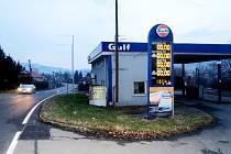 Čerpací stanice v Palkovicích nefunguje už několik let. Zatím se nenašel movitý kupec, který by za objekt zaplatil požadovanou cenu.
