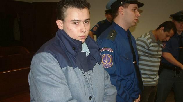 Emil Soldán před vyhlášením rozsudku.