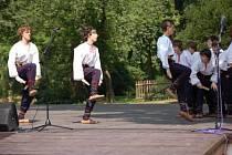 Vystoupení souboru Ostravička
