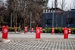 Třinec v celostátní karanténě (Werk Arena), 25. března 2020. Vláda ČR vyhlásila dne 15.3.2020 celostátní karanténu kvůli zamezení šíření novému koronavirové onemocnění (COVID-19).