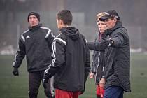 Fotbalisté Třince se pod vedením kouče Straky připravují na jarní část sezony.