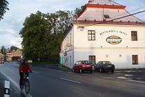 Restaurace U Oráče v Dobré.