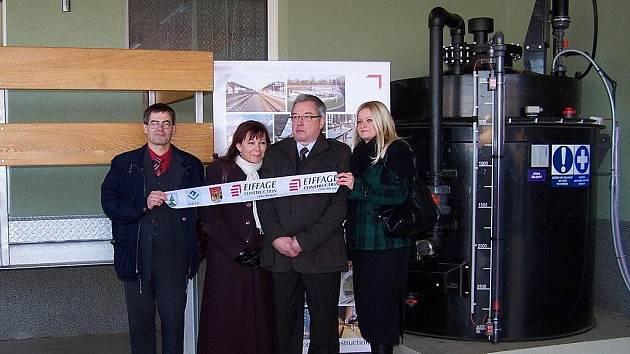 V Ostravici slavnostě zahájili ostrý provoz nové čistírny odpadních vod.