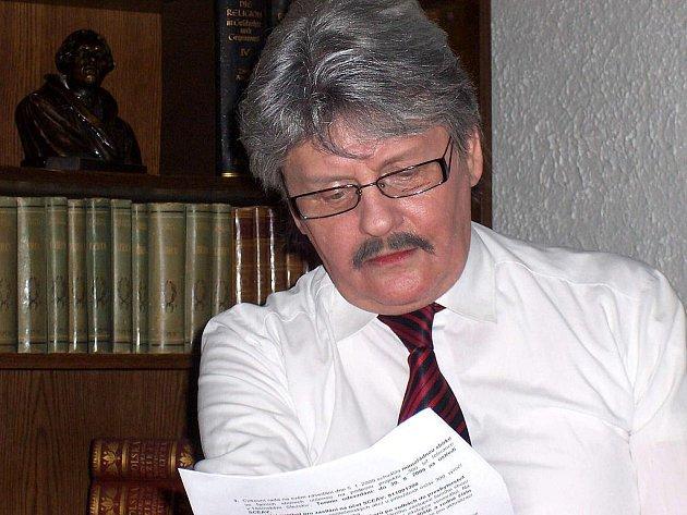 Kněz Bohuslav Kokotek.