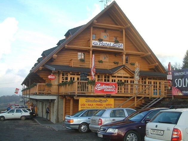 Hotel Grůň v Mostech u Jablunkova. Ilustrační snímek.