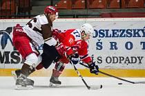 Třebíč potřetí v této sezoně dokázala vyzrát na frýdecko-místecké hokejisty.