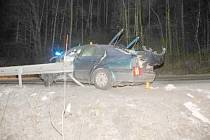 Snímek z nehody.