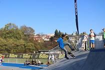 Nový skatepark byl ve čtvrtek odpoledne slavnostně otevřen ve Frýdku-Místku.