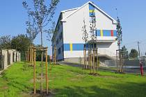 Rekonstruovaný dům v Neborech.