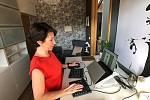Psychologové pro správnou a zdravou domácí kancelář doporučují jasně vyhraněný prostor v tiché a světlé místnosti.