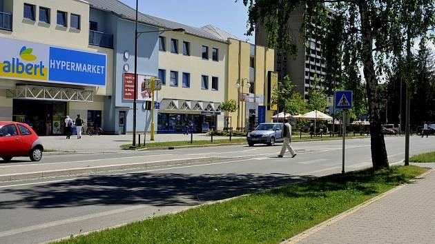 Lidická ulice v Třinci. Ilustrační snímek.