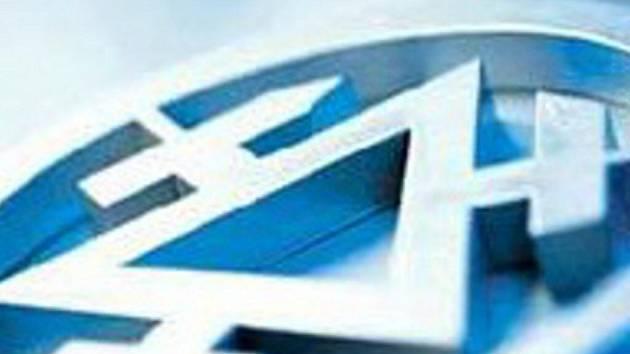 Logo Třineckých železáren.