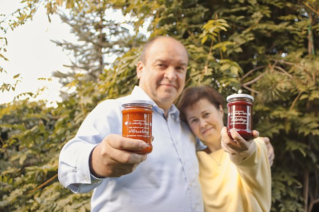 Manželé Suškovi vyrábí džemy svysokým podílem ovoce.