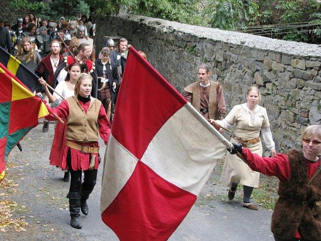 Odry ovládli v sobotu rytíři a kejklíři