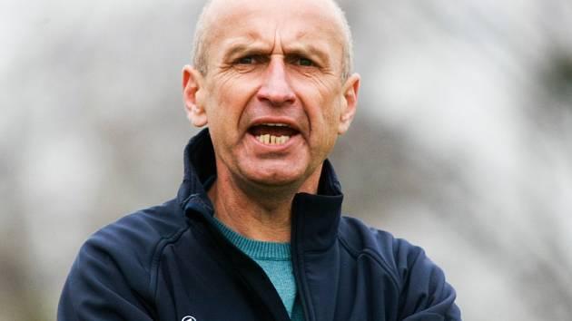 Trenér Pavel Hajný.