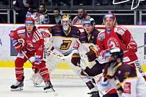 Hokejová extraliga - 42. kolo: Třinec - Jihlava.