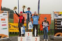 Letošní časovky ArcelorMittal, kterou pořádá cyklistický oddíl Racing Olešná z Frýdku-Místku, se i přes nevlídné počasí účastnilo 143 závodníků.