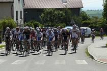 Na start jubilejního 10. ročníku Velkopolomských okruhů se v osmi kategoriích postavilo celkem 186 cyklistů.