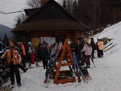 Ski areál Sviňorky v Morávce. Archivní snímek.