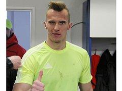 Frýdecko-místecký brankář Matej Mihálek měl lví podíl na vítězství svého týmu nad Hradcem Králové (2:1)