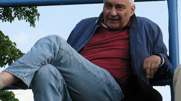 Ttrenér Raškovic Bohuslav Sládeček.