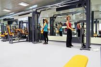 Nové moderní fitness s recepcí, barem a zázemím nabízí devět strojů v kardiozóně a dalších dvaadvacet posilovacích strojů a posilovacích míst.
