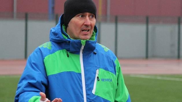 Trenér fotbalistů MFK Frýdek-Místek Milan Duhan.