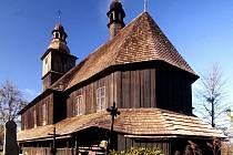 Kostel Všech svatých v Sedlištích.