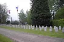 Památník padlým vojákům Rudé armády při osvobozování Frýdku.