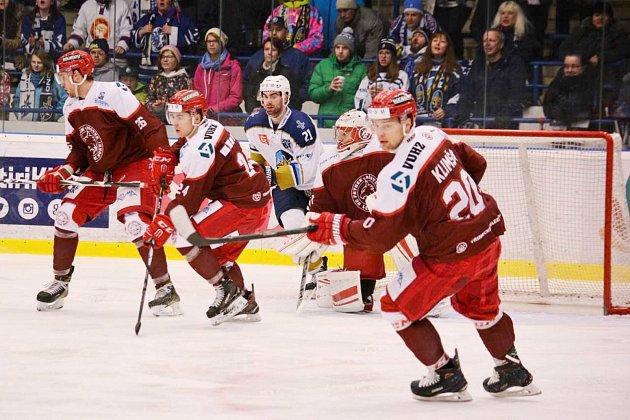 S kladenskými hokejisty padl Frýdek-Místek i ve čtvrtém vzájemném měření sil.