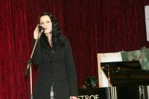 Veronika Sobčáková při soutěžním vystoupení v Bohumíně.