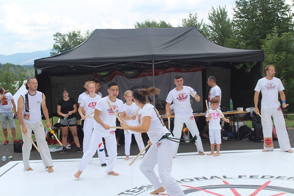 První letní festival jiu-jitsu Milky Way open air se uskutečnil v sobotu na Olešné ve Frýdku-Místku.