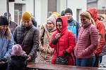 Zabijačka v Beskydském pivovárku, 7. března 2020 v Ostravici.